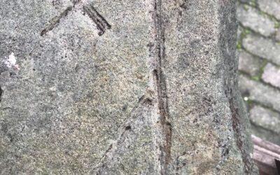 500 jaar oud bouwfragment gevonden bij versterking boerderij Westerenzelens